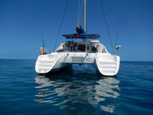 A calm day on the Great Barrier Reef