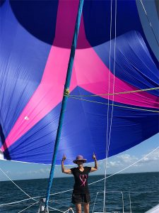 Assymetrical spinnaker