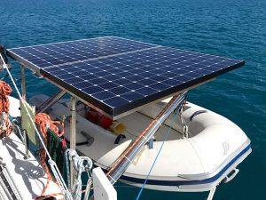 654W Sunpower Solar Panels on a tilting frame